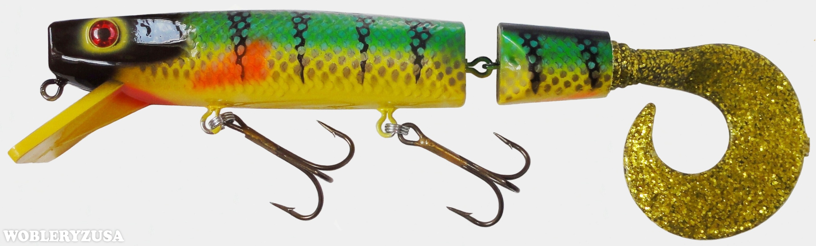 Wobler SUPER STALKER 30 cm - Perch - YB