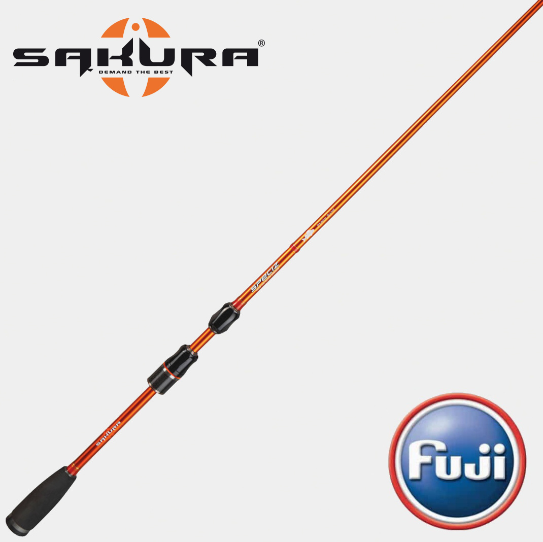 SAKURA SPECIZ SPIN PERCH GAME ......... 5 - 20 g