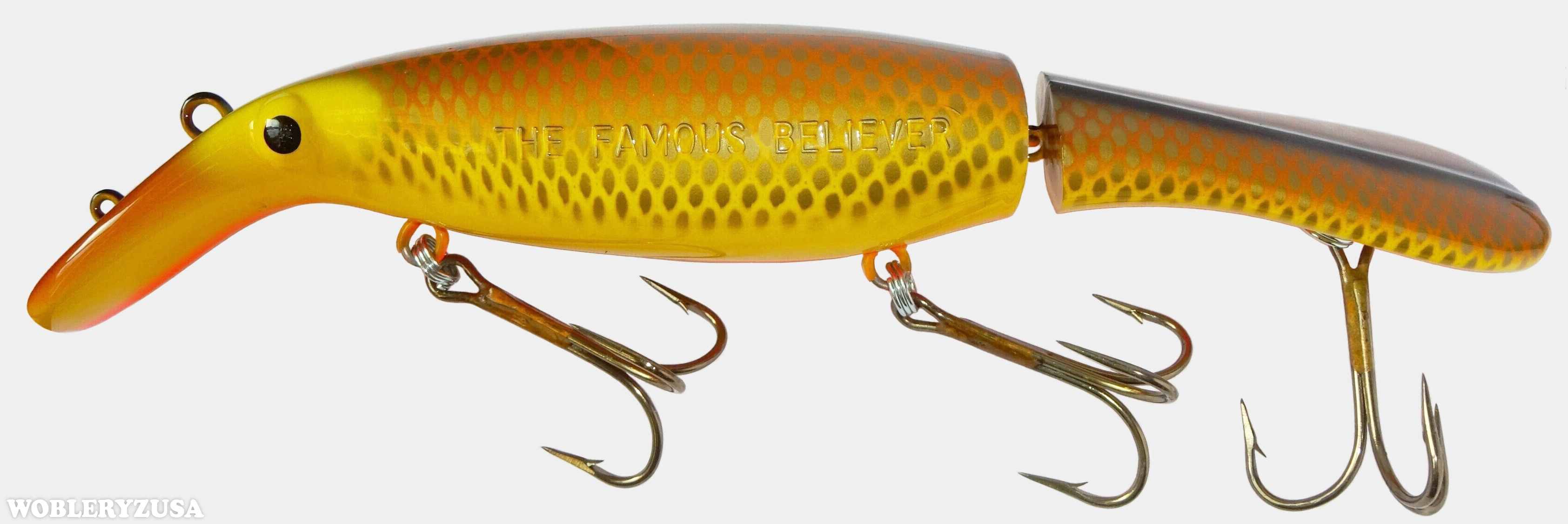 Wobler BELIEVER 25 cm - Hot Walleye