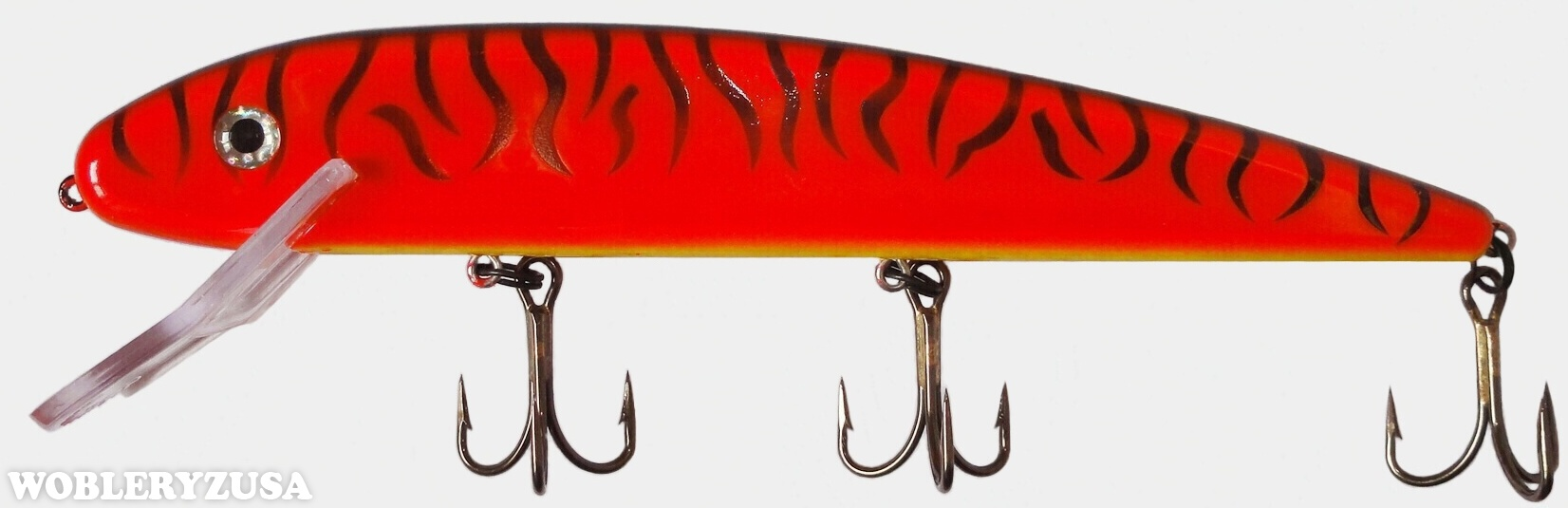 Wobler GRANDMA LURE 23 cm - Hot Orange Tiger