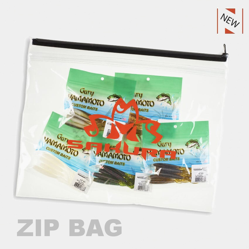 SAKURA ZIP BAG - L