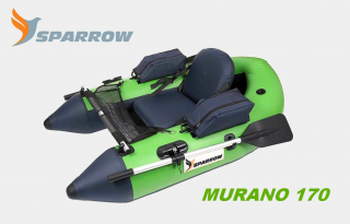 SPARROW Belly Boat MURANO 170